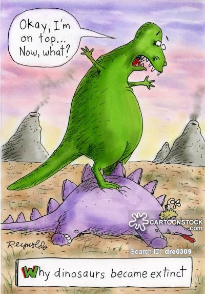 Why dinosaurs became extinct: 'Okay, I'm on top...now what?'